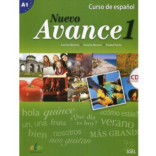 Nuevo Avance 1 podręcznik CD audio, oprawa miękka