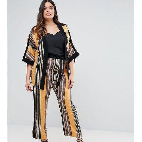 Striped trousers - multi Elvi