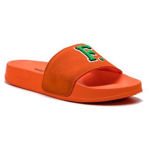 a308be72 Puma Klapki PUMA - Leadcat Fenty FU 367087 03 Scarlet Ibis/Bright Green,  kolor pomarańczowy