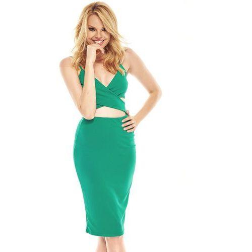 89ce13bd24 Sukienka Vicky w kolorze szmaragdowym (Sugarfree) - sklep ...