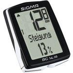 Sigma licznik bc 14.16 - przewodowy licznik rowerowy marki Sigma sport