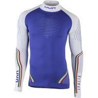 UYN Natyon Italy UW Koszulka z golfem na długi rękaw Mężczyźni, italy L/XL 2020 Koszulki bazowe z długim rękawem