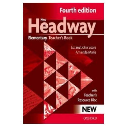 New Headway Elementary 4 ed. Teacher's Book + CD Oxford (9780194769112)
