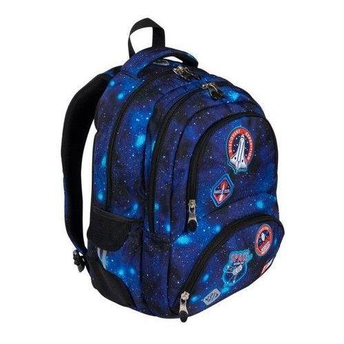 Plecak 4-komorowy BP7 Misja kosmiczna, kolor zielony