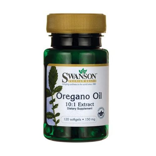 Swanson Oregano Oil Extract 10:1 koncentrat 120 kaps
