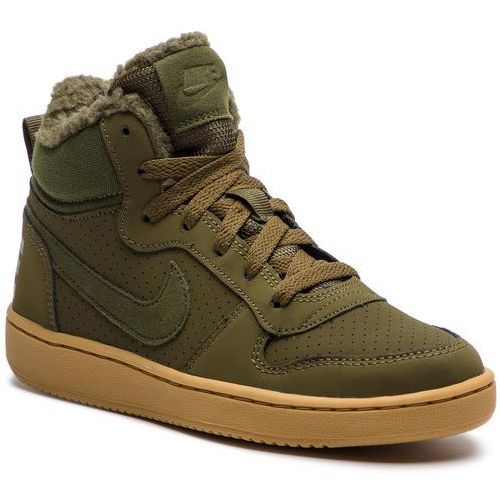 Buty NIKE - Court Borough Mid Wntr GS AA3458 300 Olive Canvas/Olive Canvas