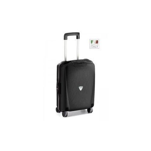 Roncato walizka mała/ kabinowa z kolekcji roncato light 4 koła materiał polipropylen zamek szyfrowy tsa