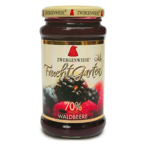 Zwergenwiese Mus z owoców leśnych (70% owoców) bezglutenowy bio 225 g