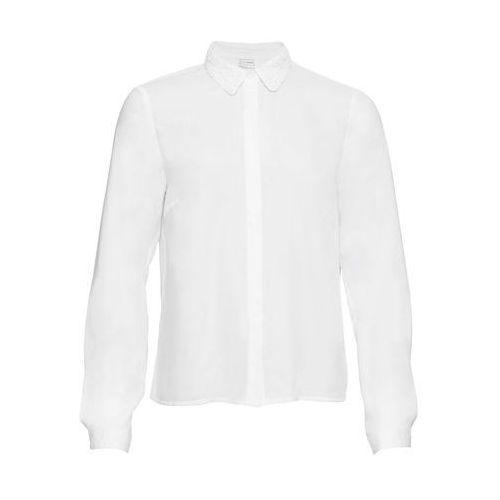 94aa1bdfbb Bluzka z nadrukiem biało-czarny z nadrukiem (bonprix) - sklep ...
