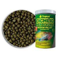 cichlid herbivore medium pellet pokarm dla pielęgnic marki Tropical