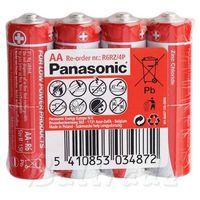 Philips 4 x bateria cynkowo-węglowa panasonic r6 aa (taca) (5410853034872)