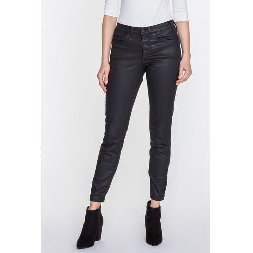 d72e99270684b Czarne spodnie woskowane sabrina (RJ Rocks Jeans) - sklep ...