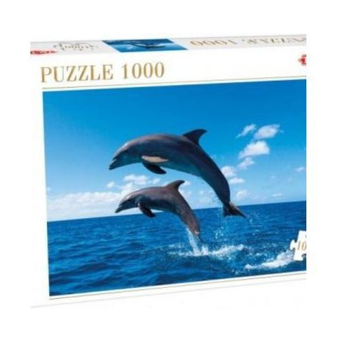 Tactic Puzzle 1000 two dolphins jumping (6416739538648)
