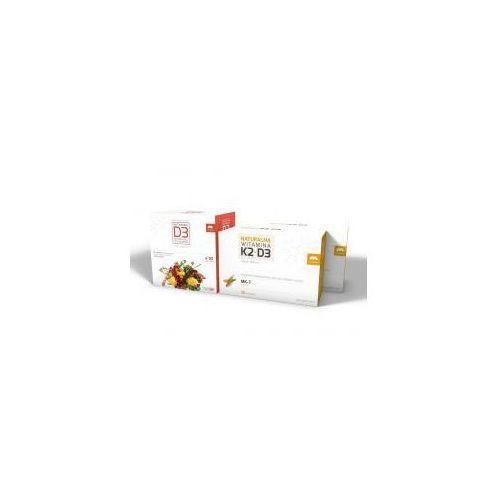 Kapsułki ZESTAW WITAMINA K2 MK-7 NATURALNA + D3, 2 X 50 KAPS. + NATURALNA WITAMINA D3, 90 KAPS