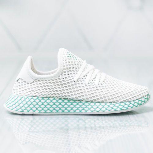 adidas DEERUPT RUNNER W FOOTWEAR WHITE GREY ONE CLEAR MINT 38 2/3, kolor wielokolorowy