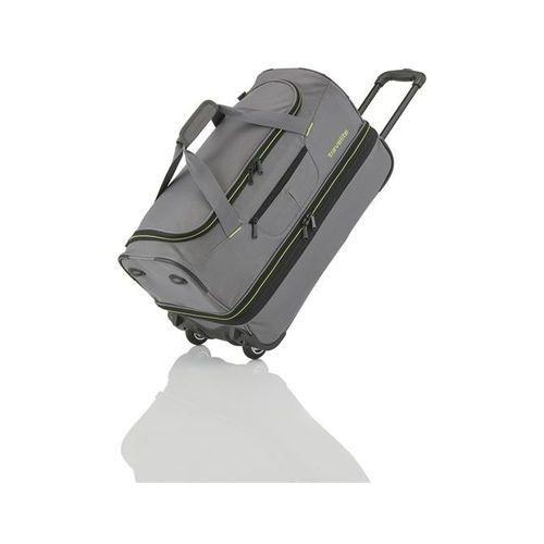 Travelite basics torba podróżna na kółkach 51/64l grau 2-koła - szary