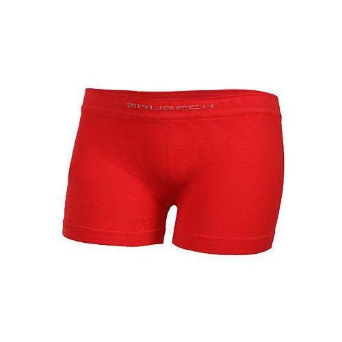 55f1e310665d9f Bokserki chłopięce Comfort Cotton Junior - czerwony (Brubeck ...