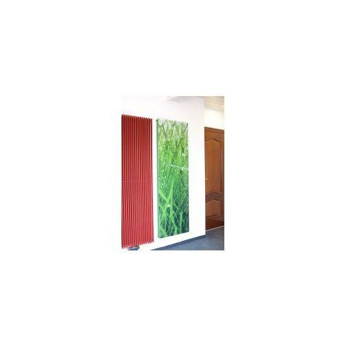 Dekoracyjny Grzejnik Niagara Z Osłoną Szklaną Z Grafiką 1800 X 445 Luxrad