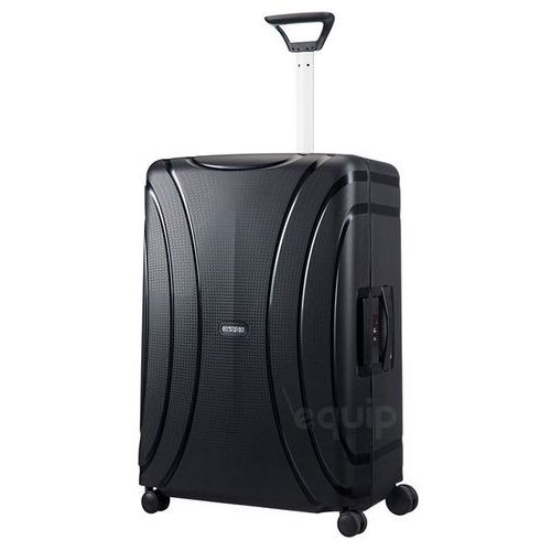 American tourister Walizka duża lock'n'roll + gratis poduszka podróżna - jet black