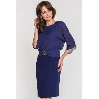 e1725f5b759 suknie sukienki granatowa dluga suknia suknia dla mamy panny mlodej ...
