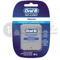Oral-b nić pro-expert clinic-line floss 40m - taśma dentystyczna o miętowym smaku