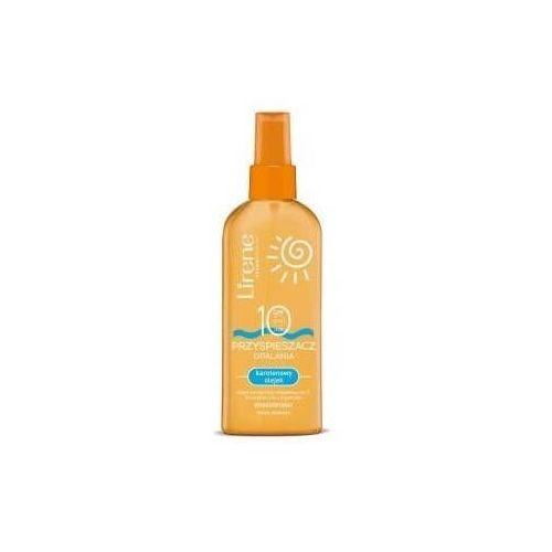 Lirene Przyśpieszacz opalania karotenowy olejek SPF10 150ml - Najtaniej w sieci