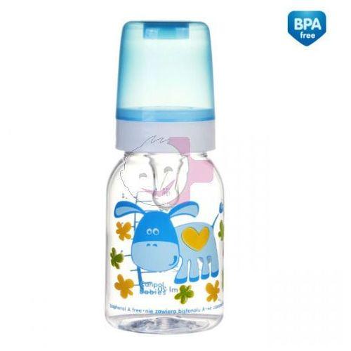 But.niem.120 ml CANPOL 11/851 dekor.wesołe zwierzaki (BPA 0%) - 1 szt
