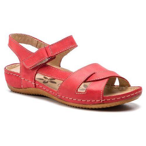 Sandały - 246 czerwony marki Helios