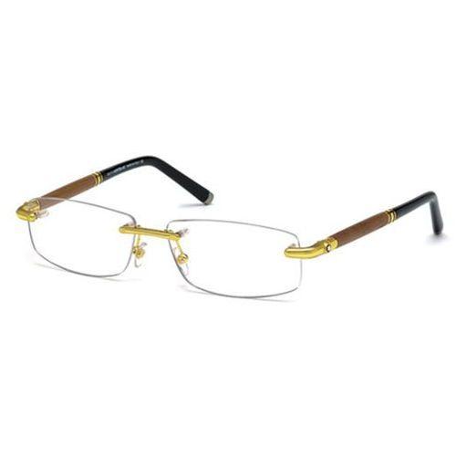 Okulary korekcyjne mb0491 030 Mont blanc