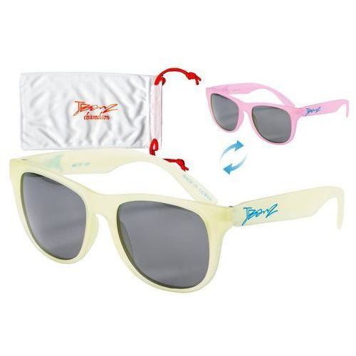 Okulary przeciwsłoneczne dzieci 4-10lat kameleon - yellow to pink marki Banz