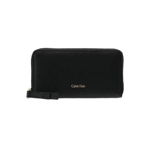Calvin Klein COSMOPOLITAN LARGE ZIPAROUND Portfel black, K60K604018