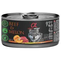 różne smaki 92% mięsa karma w puszce puszka puszki marki Alpha spirit
