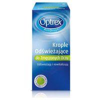 Reckitt benckiser Optrex actidrops odświeżające krople do zmęczonych oczu 10ml