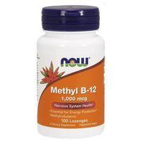 Tabletki Methyl B-12 1000mcg 100 tabletek do ssania
