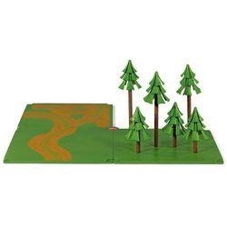 Siku akcesoria - zestaw płytek z drogami leśnymi