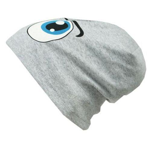 Czapka dziecięca bawełna oczy beanie krasnal 42-44 - cd02 marki Tara