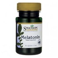 SWANSON Melatonina 3mg, 60kaps.