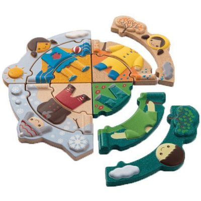 Układanki Plan Toys