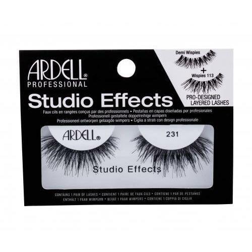 Ardell studio effects 231 wispies sztuczne rzęsy 1 szt dla kobiet black - Promocyjna cena