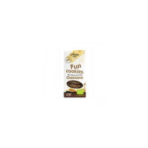 Ciasteczka Fun Cookies owsiane Bio 120g
