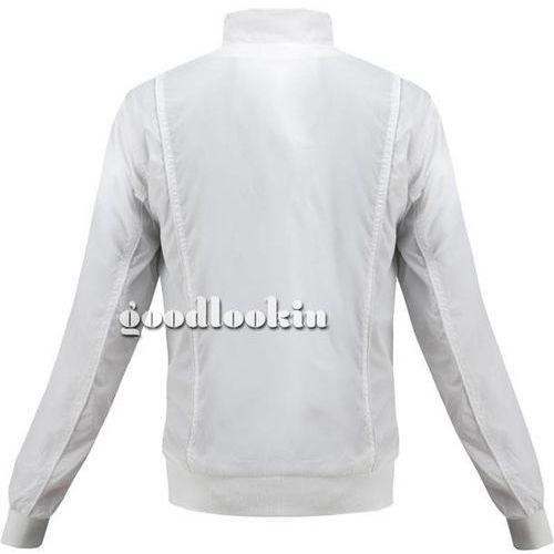 Kurtka wiatrówka biała (50320) - biały, Al nwick