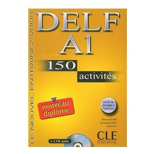DELF A1 150 activites Nouveau diplome Ćwiczenia z płytą CD