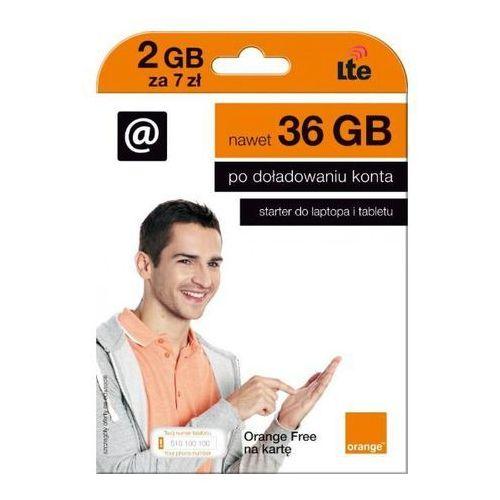 Orange  internet free na kartę 7pln