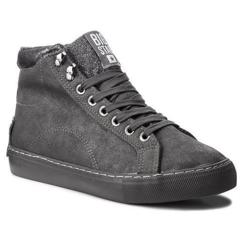 Sneakersy BIG STAR - BB274782 Grey, kolor szary