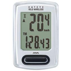 Licznik Cateye Velo Wireless+ CC-VT235W biały