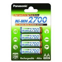4 x Panasonic R6 AA Ni-MH 2700mAh (blister) (5410853052807)
