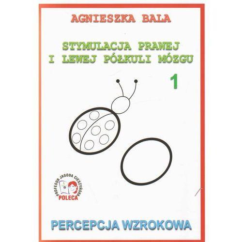 Stymulacja prawej i lewej półkuli mózgu Percepcja wzrokowa 1, oprawa broszurowa
