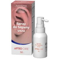 APTEO Care spray do higieny uszu 30ml - data ważności 30-09-2019