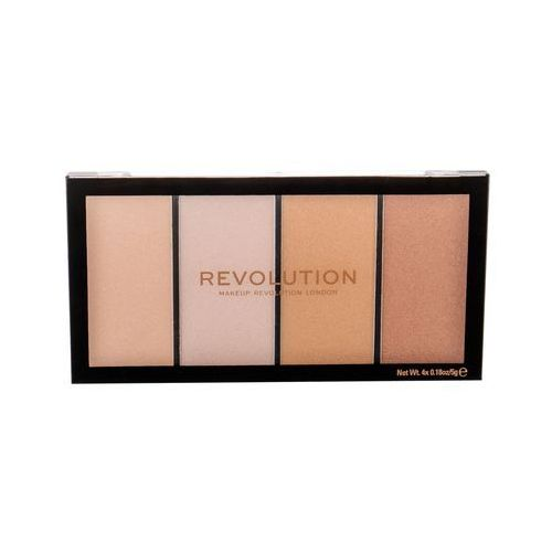 Re-loaded rozświetlacz 20 g dla kobiet lustre lights warm Makeup revolution london - Genialny rabat