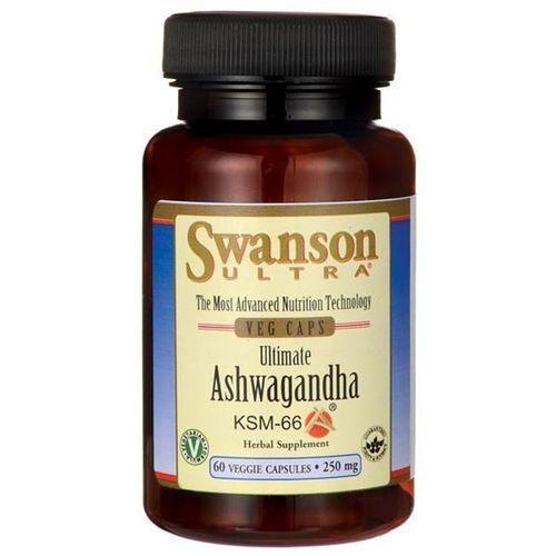 Kapsułki Swanson Ashwagandha KSM-66 250 mg 60 kapsułek